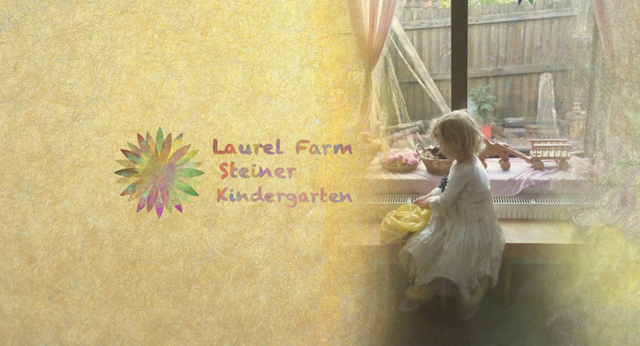 landing logo banner with child 5