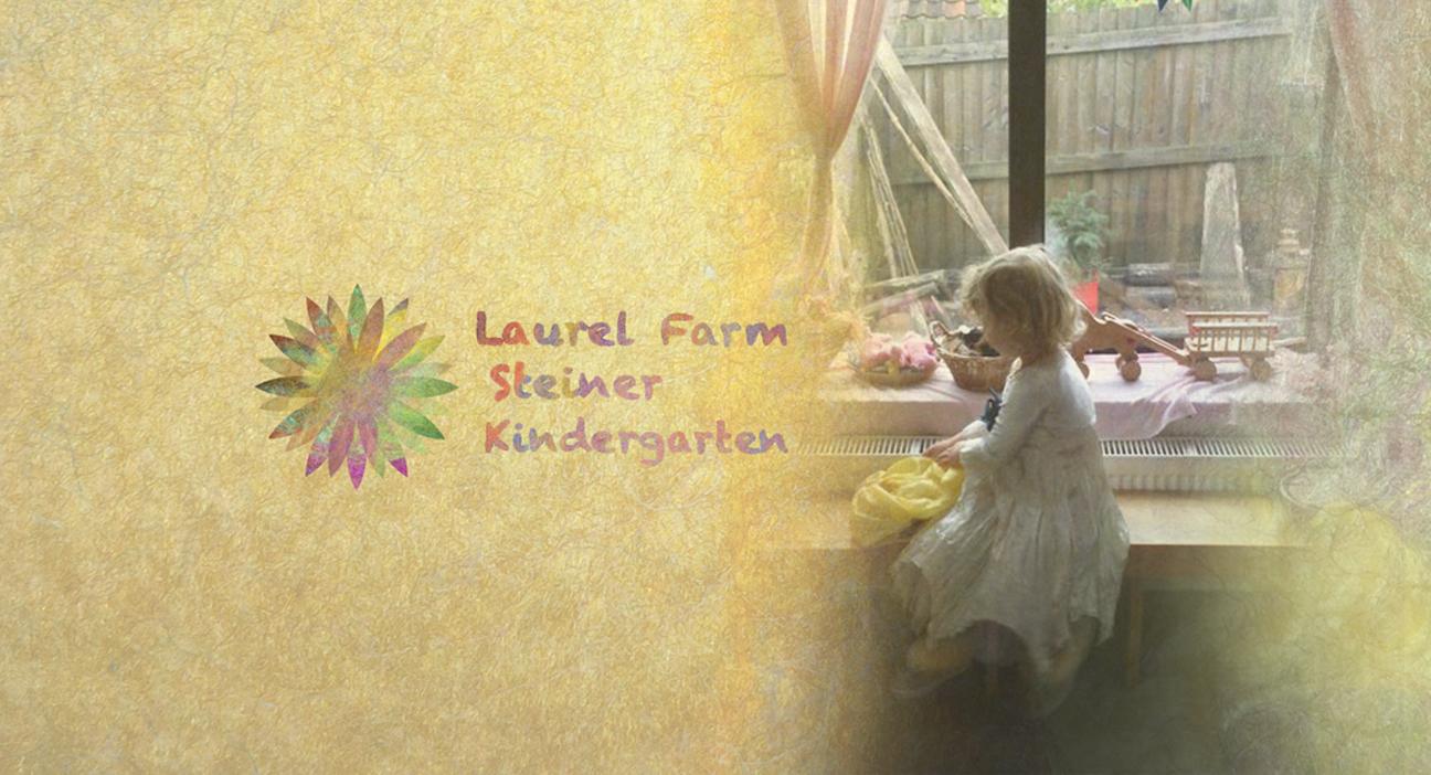 landing logo banner with child 5